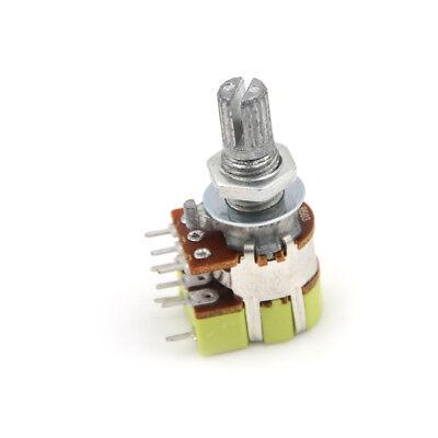 B50k 50k Ohm Dual Linear Taper Volume Control Switches Potentiometer Switchfqna