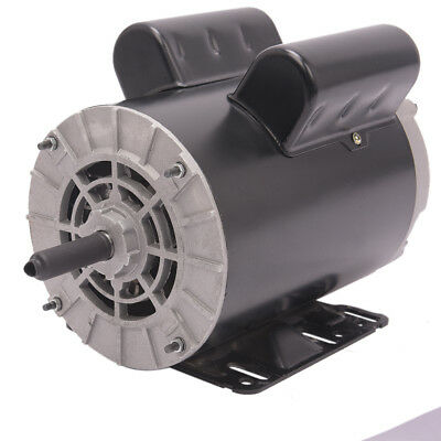 230v 5 Hp3450rpm Electric Air Compressor Duty Electric Motor 56 Frame 58 Shaft