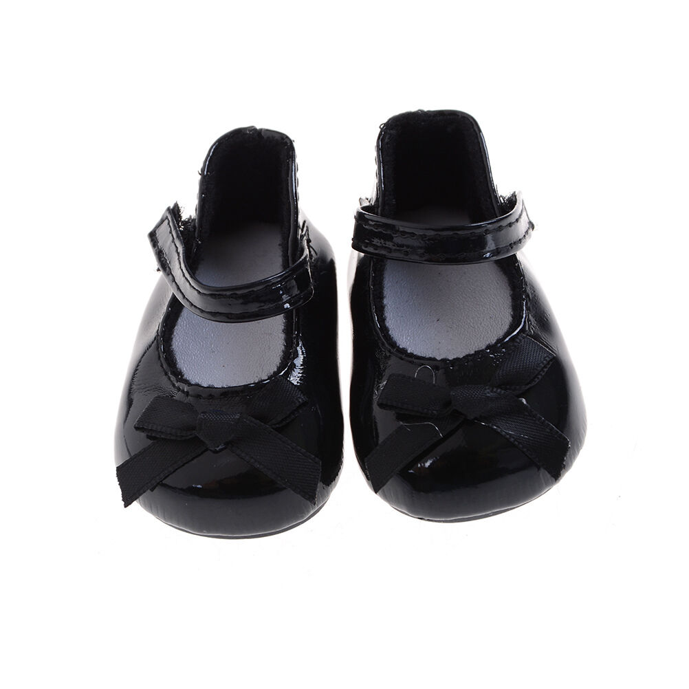 Fashion Black Shoes Boots For 18inch Dolls Doll Party Gifts Baby Toys P0CABLCA 1