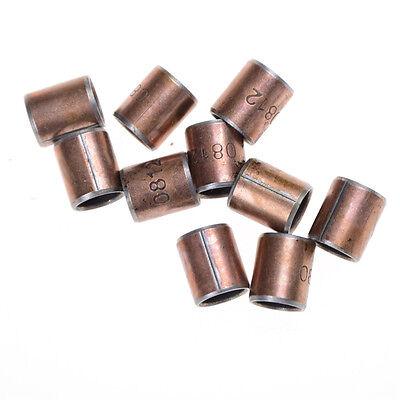 10PCS Wear-Resisting SF-1 Self Lubricating Bearing Bushing 8x10x12mm Y9P