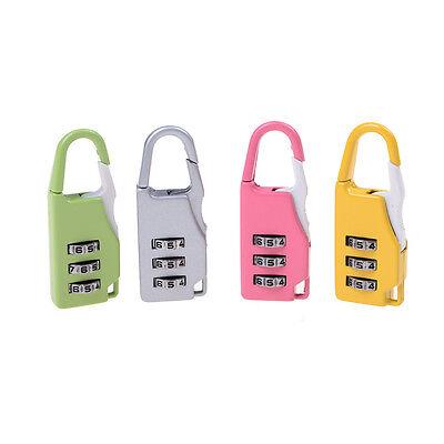 Zink-Legierung Sicherheit 3 Kombination Reise Koffer Gepäck Code Lock XJ