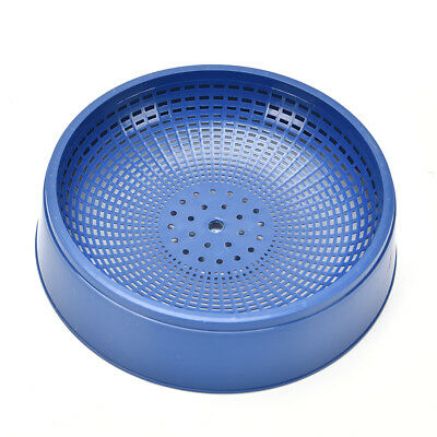 Blue Plastic Racing Pigeon Breeding Eggs Basin Dove Pot Bird Nesting Bowl ZY