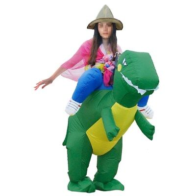 DIY Halloween Inflatable Ride Dinosaur T-Rex Party Role Play Fancy Costume Gift - Fun Halloween Diy