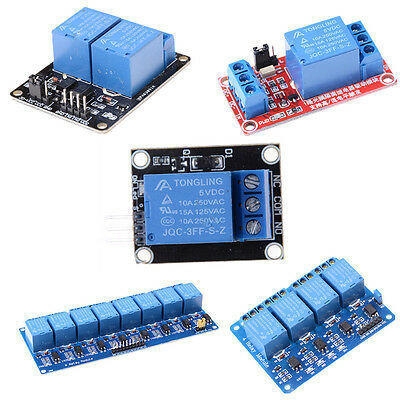 5v 1248 Channel Relay Board Module Optocoupler Led For Arduino Pic Arm Avr Br
