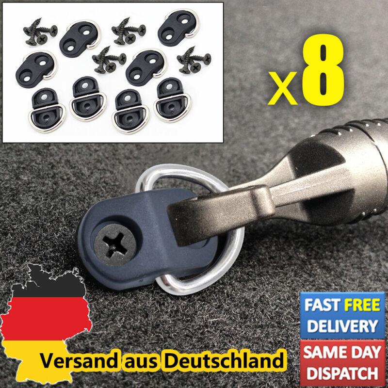 KFZ 8 Stück Gepäck Trenn Kofferraum Netz elastisch Haken Auto Hooks Autoclips