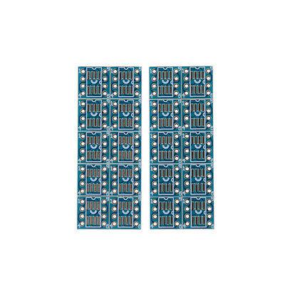 20pcs Sop8 So8 Soic8 Tssop8 Msop8 To Dip8 Adapter Pcb Diy Conveter Board Pt