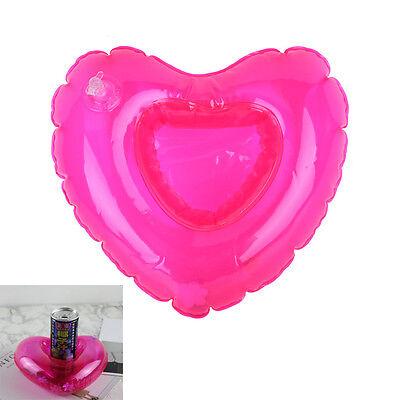 Floating Mini Pool Float Aufblasbare Flaschenhalter Handy Cup Getränkehalter ZP