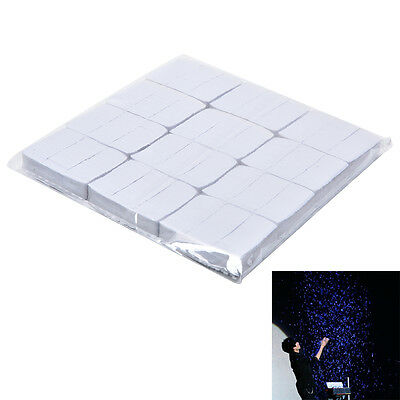 12Pcs/set White Snowflakes Snowstorm Snow paper Magician Magic Tricks Props Fast