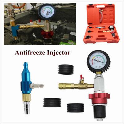 Car Radiator Cooling Antifreeze Replacement Tool Kit Vacuum Pump Coolant System