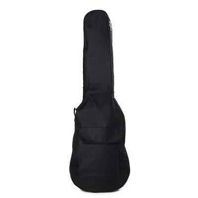 1x Padded Electric Guitar Bag Soft Case Double Straps Backpack Carrying Bag GY
