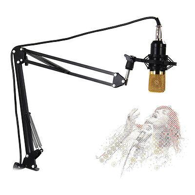 NB-35 Adjustable Studio Microphone Boom Scissor Arm Desktop Stand Holder BlackXB
