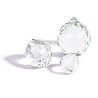 - 20mm Glass Crystal Balls Prism Chandelier Hanging Pendant Lighting Ball Decor HI
