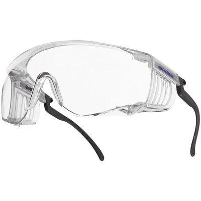 Bolle Gafas De Seguridad Squale Ii Gafas Tácticas Lente Claro Protección Para...