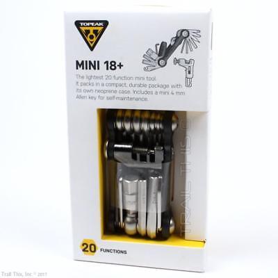 Topeak Mini 18 + Plus Bicycle Multi-Tool with Chain Breaker