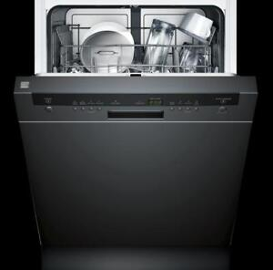 Up To $200 OFF Select Kenmore Dishwashers! Sale Ends Soon! Kenmore Hybrid Stainless Tub Dishwasher, Black Exterior!