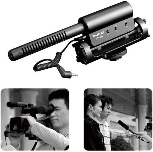 TAKSTAR SGC-598 Interview Microphone for Nikon/Canon Camera/