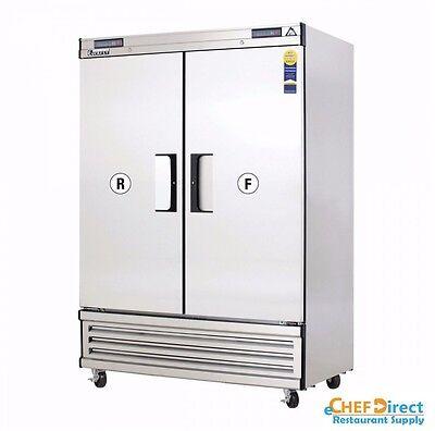 Everest EBSRF2 Upright Reach-In Dual Temp Refrigerator/Freez