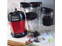 Nutri Ninja Pro Blender in excellent condition. Limited edition colour red