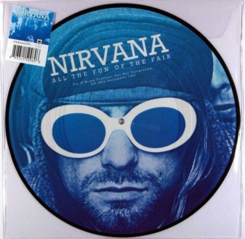 Nirvana - All The Fun Of The Fair, NIEUW, Picture Disc