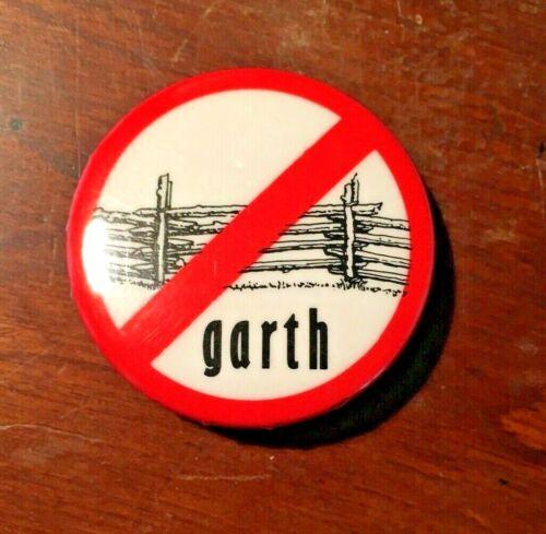 GARTH BROOKS RARE NO FENCES Promo Original vintage pin button The Dance