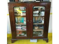 Book case - inclosed - vintage