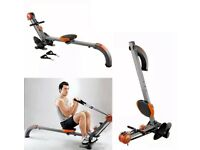 Home Gym Machine Rowing Cable Multi Workout Exercise Body Building Trainer