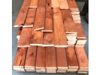 cladding timber chiplap loglap 150 x 25 premium only 1.75p BEST UK PRICE