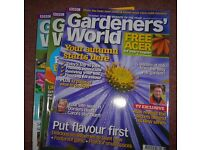 Gardeners World Magazine (job lot of 50 issues)