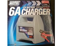 Maypole 6A 12V Battery Charger