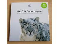 Apple Mac OS X Snow Leopard DVD Retail Copy