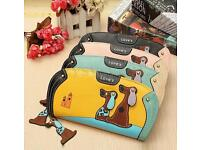 New animated cartoon handbag purse wallets coins holder Animal Bag Designer PU Leather Crossbody Bag