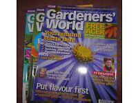 Gardeners World Magazine (Job lot of 50 issues)
