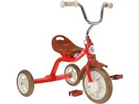 Italtrike red kids tricycle in EXCELLENT condition - 4 months old. £40.