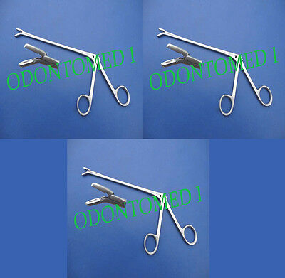 3 Cushing Pituitary Rongeurs 5 3mm Down Ent Surgical Instruments
