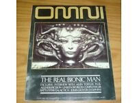 WANTED: OMNI Magazines