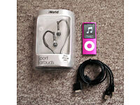 iPod Nano (hot pink)