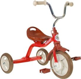 Italtrike red kids tricycle in EXCELLENT condition - 6 months old