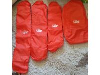 4 Backpack, Rucksack Rain Covers NEW Walking,Trekking, Holiday, Gap Year, School, College, Gym