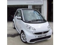 2013 SMART FORTWO COUPE PETROL AUTO,PASSION,SAT NAV,BLUETOOTH,LOW MILES,ZERO ROAD TAX,AIR CON,CD,FSH