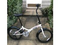 Unisex folding hybrid bike, brand new, light weight, compact & easy to store away