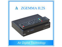 Latest Zgemma H2S with 12 months gift Kodi-direct and Blue hd skin