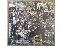 Rod Stewart A Night On The Town LP Record Vinyl