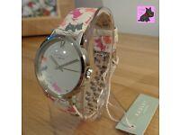 Radley RY2271 - Ladies 'Doodle Dog' Cream Leather Strap Watch - RRP: £65.00