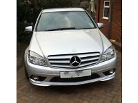 Mercedes C200 CDI AMG Sport Blue Efficiency Silver Diesel 2010 Automatic