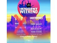 BBC biggest weekend (2x tickets)