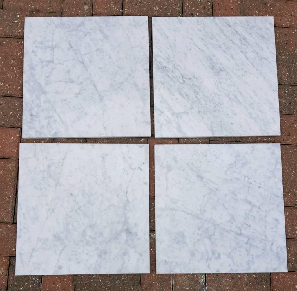 Carrara Marble Polished Italian Tile Floor Wall