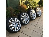 "19"" BMW Spider Alloys with NEW Tyres"