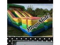 Inflatable mega slide