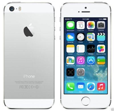 Smartphone Apple iPhone 5S 64GB Plata Libre Teléfono Móvil Desbloqueado