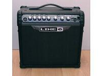 Line 6 Spider III 15 Watt Combo Modelling Guitar Amp with Built-in Effects